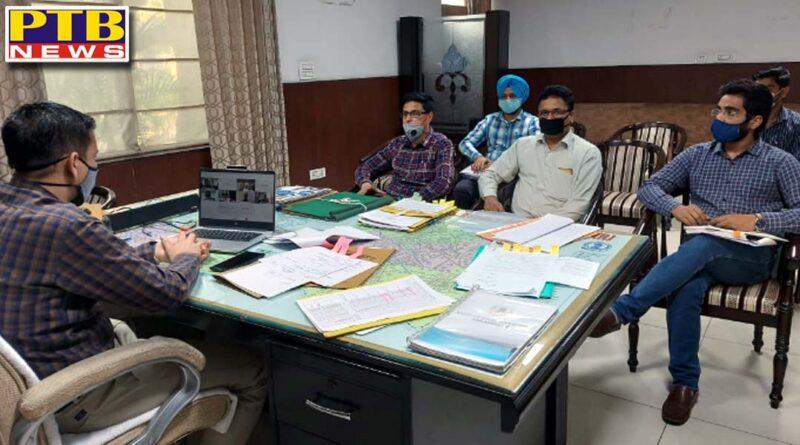 dc jalandhar ghanshyam thori asks officials to speed up theSports Hub project at Burlton Park, reviews modalities of bidding