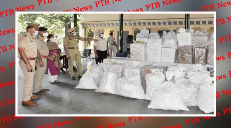 Jalandhar Commissionerate police Gurpreet singh Bhullar bust major drug haul in ludhiana Punjab PTB Big Breaking News