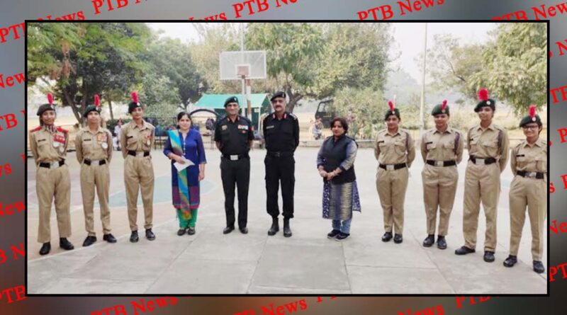 ANO and NCC cadets of HMV honoured for their duties