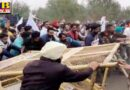 clash between farmers and police on chandigarh delhi highway police did water showers atmosphere tense
