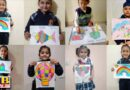 The Pre-Primary School organized online activities for the little ones Jalandhar Innocent Heart School