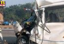truck driver died in road accident one serious injured ludhiana Firozpur punjab