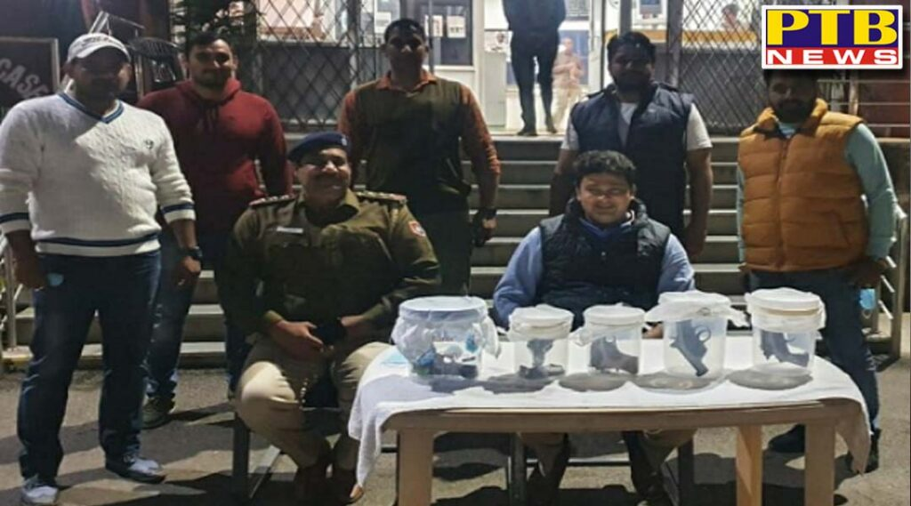 Police arrested the accused in time, preparing to kill Jalandhar's most famous social worker Shashi Sharma This big case was disclosed, arms recovered in huge quantity Mohali Police Chandigarh