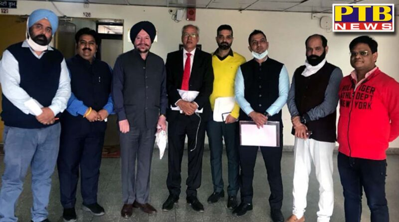 Association of Consultant of Overseas Studies (ACOS) participated in the meeting organized by Pravasi Bharathi Affairs Department of Punjab,