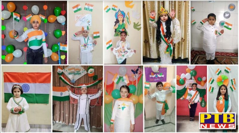 Innocent Hearts rejoicing in the Glory of the Nation on Republic Day Jalandhar