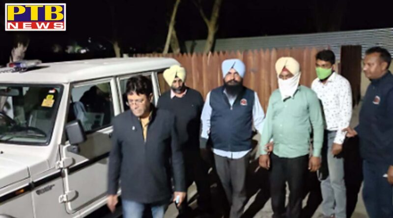 Today, Vigilance team arrested ASI and Numbered raid handed while taking bribe in Jalandhar