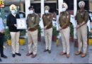 CP Gurpreet Singh Bullar Jalandhar Bestows DGP disc fpr exemplary seva to society to 17 police officers Punjab