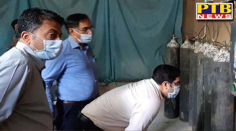 48 percent oxygen wasted in civil hospital jalandhar