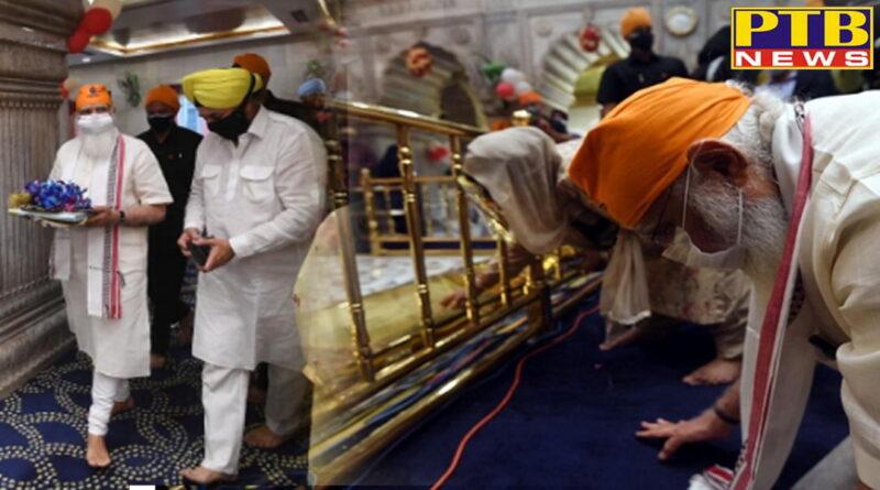 pm modi visits gurdwara sis ganj sahib on 400th prakash parab of shri guru teg bahadur Ji