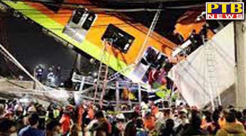elevated metro line collapse in mexico 23 people dead 70 injured