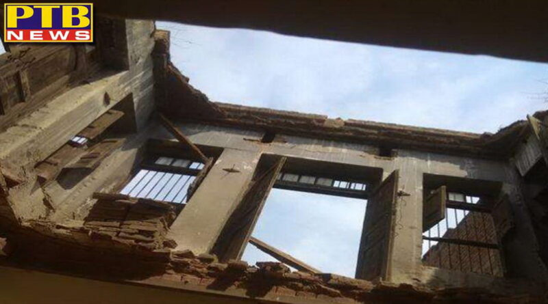 mother and daughter died due to collapse of house roof in moga Punjab