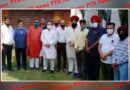 Many businessmen and industrialists of Jalandhar met MP Chaudhary Santokh Singh and MLA Rajendra Beri Jalandhar Punjab