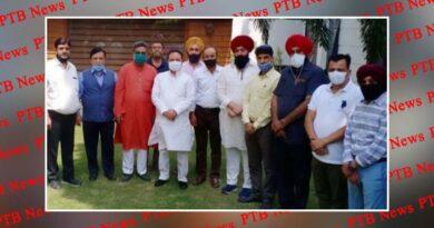 Many businessmen and industrialists of Jalandhar met MP Chaudhary Santokh Singh and MLA Rajendra Beri Jalandhar Punjab
