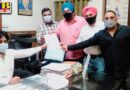 AAP party leaders today submitted a letter of demand to the ADC for the forgiveness of electricity bills and the interest of shopkeepers and financial assistance to laborers In Jalandhar