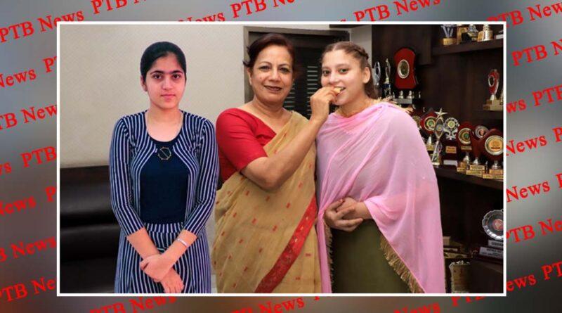 PCM SD College for Women Jalandhar students secured third and ninth position in BSc Fashion Designing Semester I Jalandhar