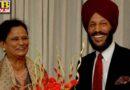 Nirmal Kaur wife of former athlete Milkha Singh passed away due to Covid19 Mohali PTB Big sad News Mohali Punjab