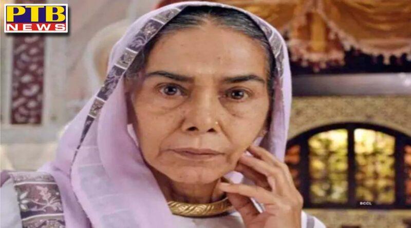 surekha sikri grandmother of balika vadhu is no more died of cardiac arrest