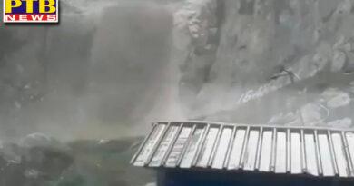 jammu kashmir cloudburst at amarnath cave