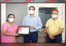 Hans Raj Mahila Maha Vidyalaya awarded by Ministry of Education Govt. of India for Beat COVID Campaign