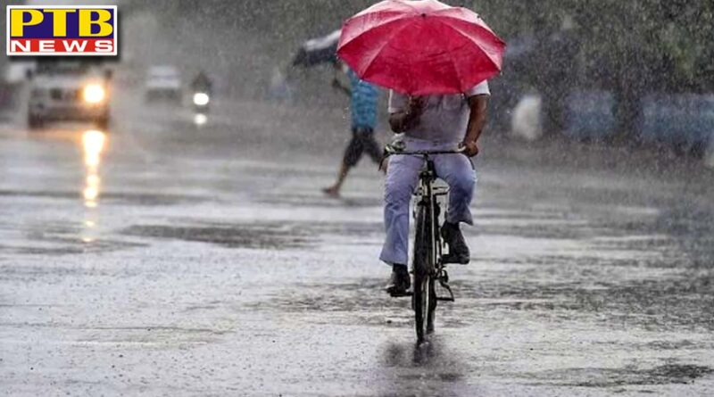do not go to himachal Pardesh today because red alert in heavy rain Punjab and other District