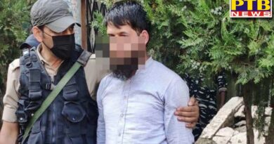 jammu and kashmir one terrorist arrested with grenade from lal chowk in srinagar interrogation continues PTB Big Breaking news