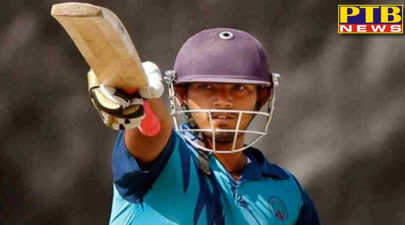 indias young cricketer dies of heart attack 122 runs in 53 balls in t20 match
