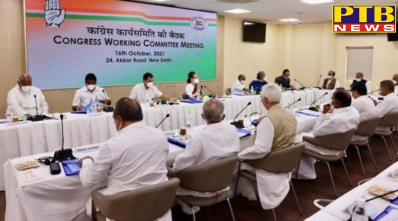 sonia gandhis blunt answer to disgruntled leaders in cwc meeting i am the full time president of congress