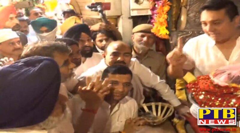 Sukhbir Singh Badal Reached Mata Chintpurni Dham On The First Day Of Navratri Himachal Pardesh
