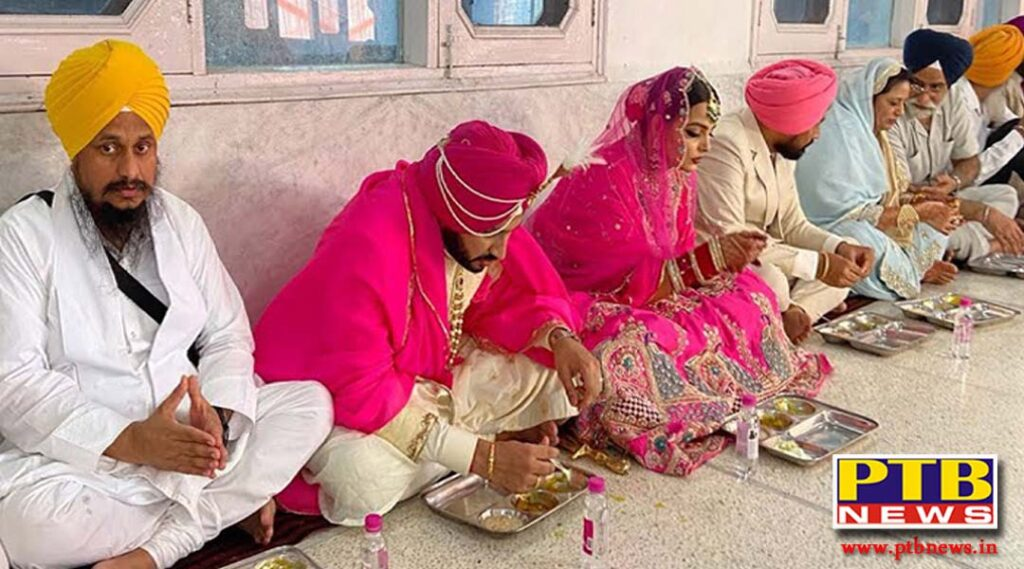 Jalandhar MLA Sushil Rinku admired the simple ceremony performed by Punjab Chief Minister Charanjit Singh Channi at the wedding of his son Navjeet Singh